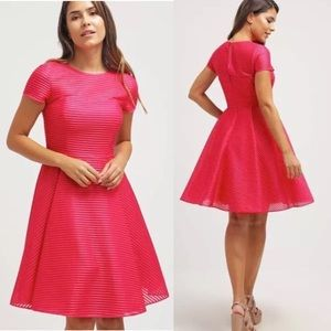 $549 Ted Baker Carniva Fuschia Dress Size Ted3 US8